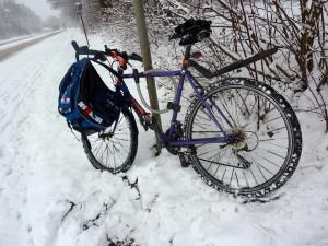 ...der Schnee machte es zum Super-Cross...
